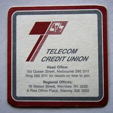 TELECOM CREDIT UNION SERVICES 155 QUEEN ST MELBOURNE 2803111 COASTER