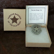 Wyatt Earp Marshall Dodge City Badge