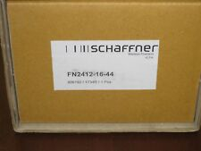 NEW Schaffner power line filter FN2412-16-44 16amp 250vac 1 and 2 phase