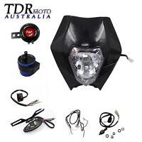 REC REG Light Kit Head/Tail Light Wiring Harness Horn 4 Dirt Bike Registration