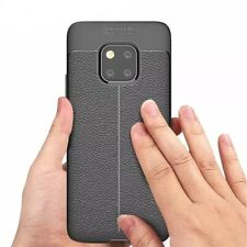 Shockproof Soft TPU Lychee Cover Case For Huawei mate 20 pro