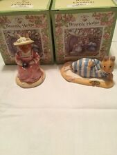 Royal Doulton Brambley Hedge Mr Salt Apple and Mrs Salt Apple NEW