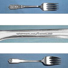 Westmorland MILBURN ROSE STERLING Demitasse Spoon 775572
