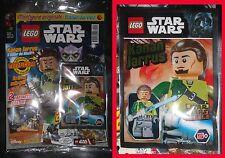 LEGO STAR WARS MAGAZINE 10 Poster LimitedEdition Polybag Minifigure Kanan Jarrus