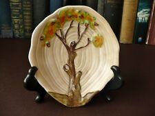 Art Deco 1925 + Carlton Ware Pin Dish - Oak Tree & Age Rings Pattern 1169/6911