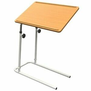 NRS Healthcare Disability Multifunction Overbed Table, Adjustable Mobility Aid