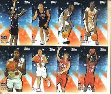 2000 TOPPS USA BASKETBALL SET : WNBA & NBA STARS