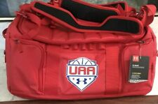 Under Armour Storm UA MOAB UAA Basketball Duffel Bag Red