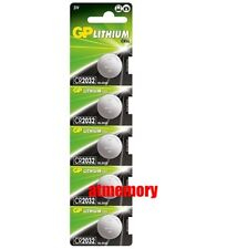 GP CR2032 CR 2032 3V Button Coin Cell Battery x 5pcs Made in Japan EXP2028