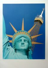 Razzia Liberty Poster signed and numbered by artist