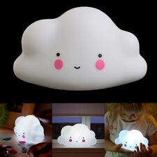 Cute Lovely Cloud Shape Mini LED Night Light Baby Kids Sleeping Lamp Bedroom Bed