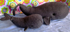 Whale Sperm Whale 2 sizes, Stuffed Animal Pattern & Instructions to Sew Uncut
