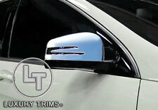Mercedes GL X166 GL350 GL450 550 Chrome Mirror Covers by Luxury Trims 2013-2016