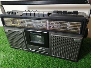 RARE Vintage Steepletone SRR6S Stereo Radio Cassette Recorder