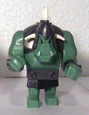 LEGO 7038 - Fantasy Era Large Troll - Sand Green w/ White Horns - Mini Figure