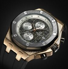 U.K. Gold Divers Pilot  Military Quartz Chronograph Sports Watch By Torbollo