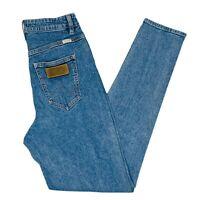 Wrangler Tyler High Waist Womens Mom Denim Jeans Size 8 Blue Skinny