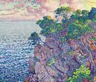 Cape Layet Theo van Rysselberghe Landscape Fine Art Print on Canvas Repro Small