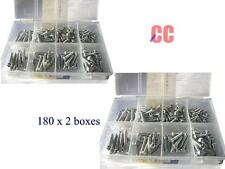 360pc small tapping screws trade DIY plastic container box pan head screw tap