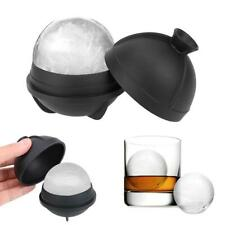 6cm Soft Silicone Whiskey Ice Cube Ball Maker Mold Sphere Party Bar Tray Maker