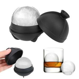 6cm Soft Silicone Whiskey Ice Cube Ball Maker Mold Sphere Party Bar Maker  TI