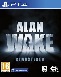 Alan Wake Remastered   PS4 PlayStation 4 New - Preorder