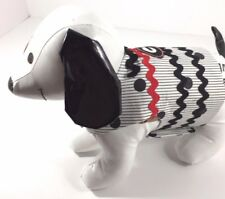 Dog Pet Clothes Harness SZ Med 6 to 8 LBS NEW Handmade College Georgia Bulldogs
