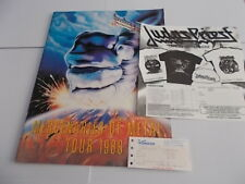 MONSTERS OF ROCK IRON MAIDEN CONCERT PROGRAMME WITH TICKET
