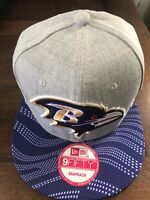 Baltimore Ravens Snapback Adult Hat Cap New Nfl Football