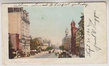 USA postcard - Pennsylvania Avenue, Washington - P/U (A190)