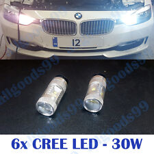 PW24W PWY24W 6xCREE LED 30W Daytime Running Light DRL BMW F30 F31 Very Bright
