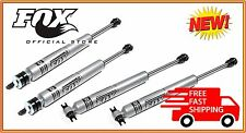 "Jeep Wrangler JK Fox 2.0 IFP Steel Body Shocks Front/Rear for 4-6"" Lift Kits"