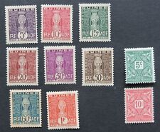 1914 & 1938 postage dues from French Guinea ( Guinee ) Mh Cv £6+