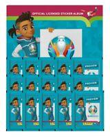 Vorverkauf: Panini - EURO 2020 Preview - Sammelsticker - Leeralbum +15 Sticker
