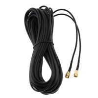 Cavo prolunga per connettore antenna da 10 m RP-SMA maschio a RP-SMA maschio