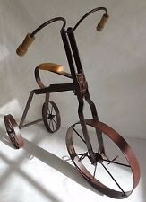 """Metal Tricycle"",  Stand-Up Sculpture,  Decorative Home Item"