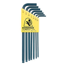 "New 7pcs 5/64""~3/16"" SAE Ball End Hex L-Key Wrench Set No.10945"