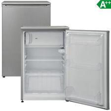 Tischkühlschrank A++ Kühlschrank 117 Liter Gefrierfach Stand 54 cm breit silber