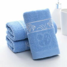 1pcs soft fiber bath towel-- blue