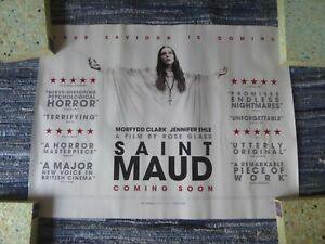 Saint Maud Original Quad Cinema Poster. Horror