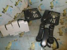 AVAYA 9608 700480585 IP DESKTOP PHONE & ACCESSORIES LOT OF 8