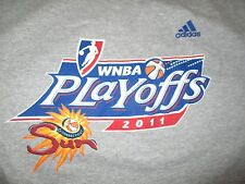 Adidas 2011 WNBA CONNECTICUT SUN Playoffs (LG) T-Shirt