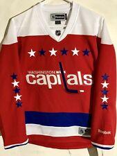 Reebok Women's Premier NHL Jersey Washington Capitals Team Red Alt sz M