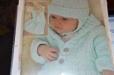 Sirdar Knitting Pattern 1680 Snuggly Bubbly Set birth to 6 yrs