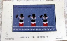 ~ NEW LITTLE MEMORIES SANTAS LIL SWEEPERS SMOCKING DESIGN PLATE CHRISTMAS  ~