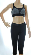 Victoria Secret PINK Ultimate Yoga Extreme Crop Capris and Sports Bra Lot M