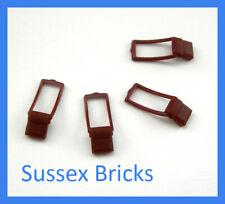 Lego - 4x Reddish Brown Messenger Bag Pouch Satchel City Indiana Pirate Castle