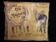 1950's KEN MAYNARD Trick Rope * MINT-IN-ORIGINAL PACKAGE