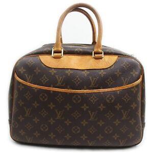 Louis Vuitton Hand Bag Deauville M47270 Browns Monogram 1511265