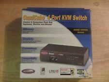 Belkin OmniCube F1D094 - 4 Port KVM Switch - KVM switch